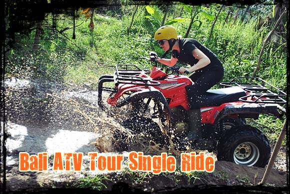 Bali ATV tour single ride