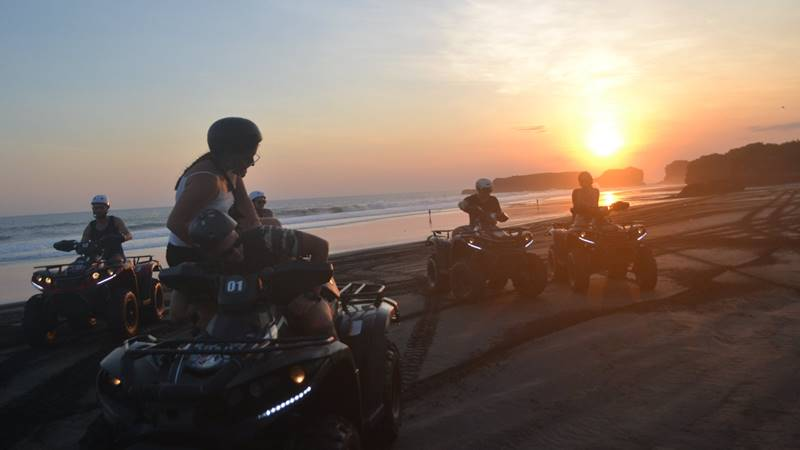 Sunset Bali Atv Ride 3