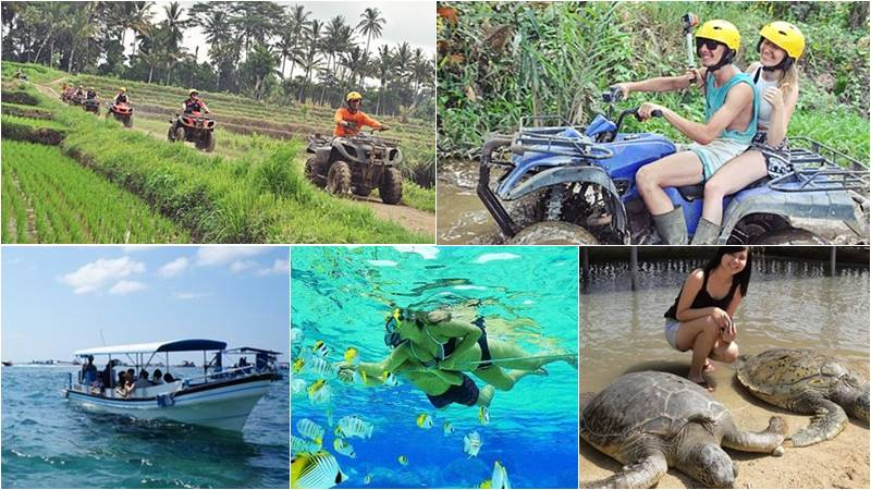 Bali Atv Ride - Snorkeling tour