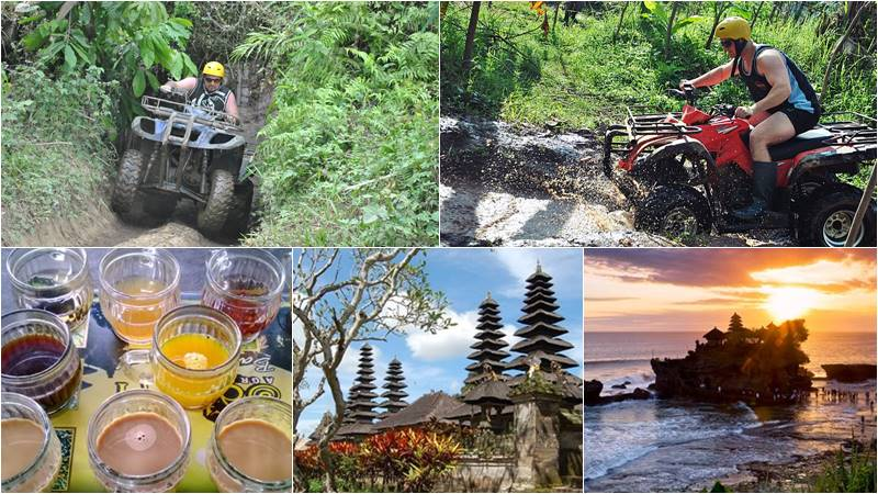 Bali Atv Ride - Tanah Lot tour