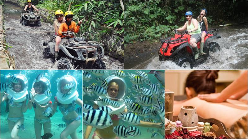 Bali Atv Ride - Ocean Walker tour