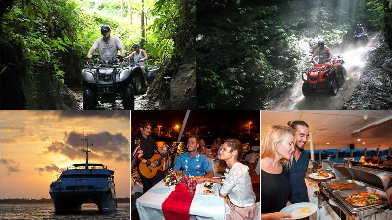 Bali ATV Ride + Bali Hai Sunset Dinner Cruise