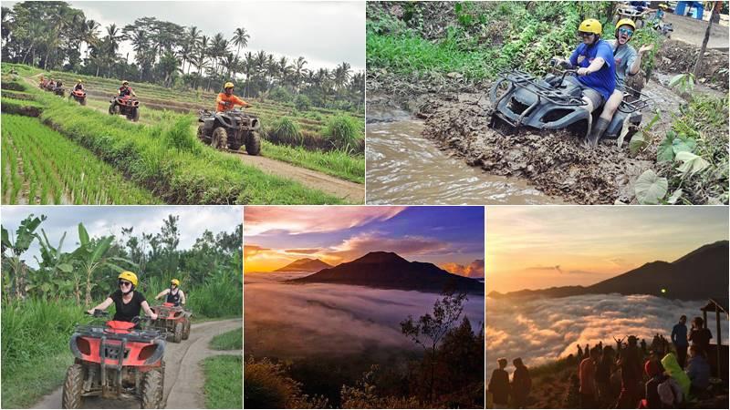 Bali ATV Ride + Mount Batur Hiking