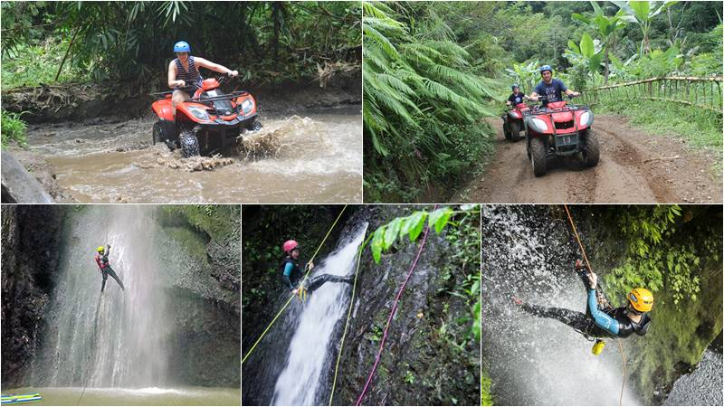 Bali ATV Ride + Canyoning tour