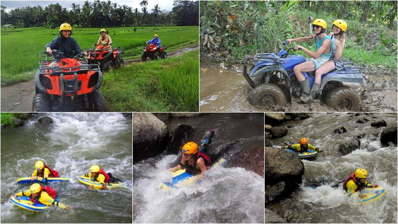 Bali ATV Ride + River Boarding