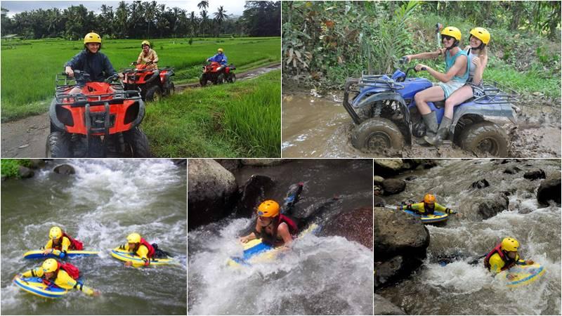 Bali ATV Ride + River Boarding