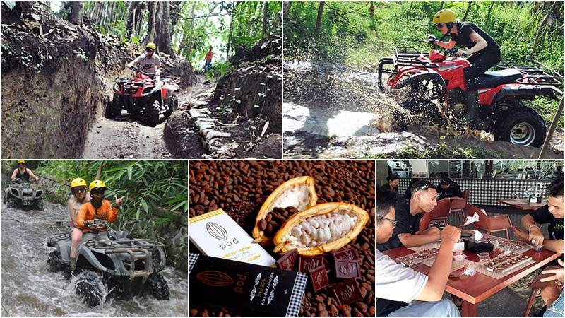Bali ATV Ride + Pod Chocolate